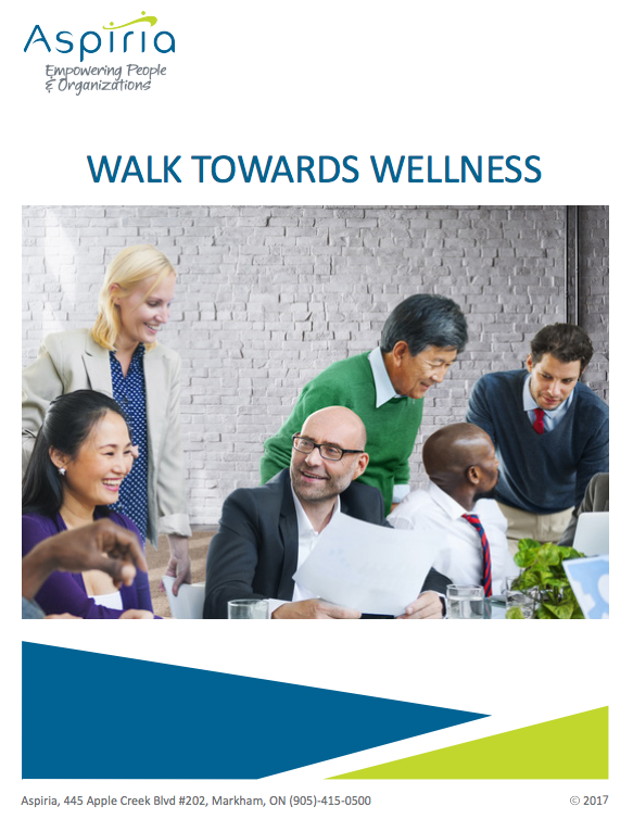 "Download ""Walk Towards Wellness"" at Aspiria"